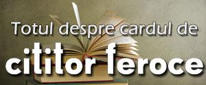 Cardul de cititor feroce