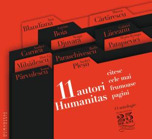 11 autori Humanitas citesc cele mai frumoase pagini audio