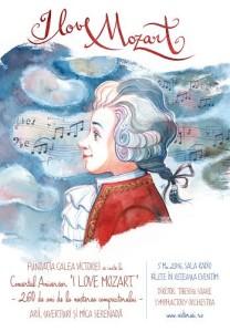 Afis I Like Mozart