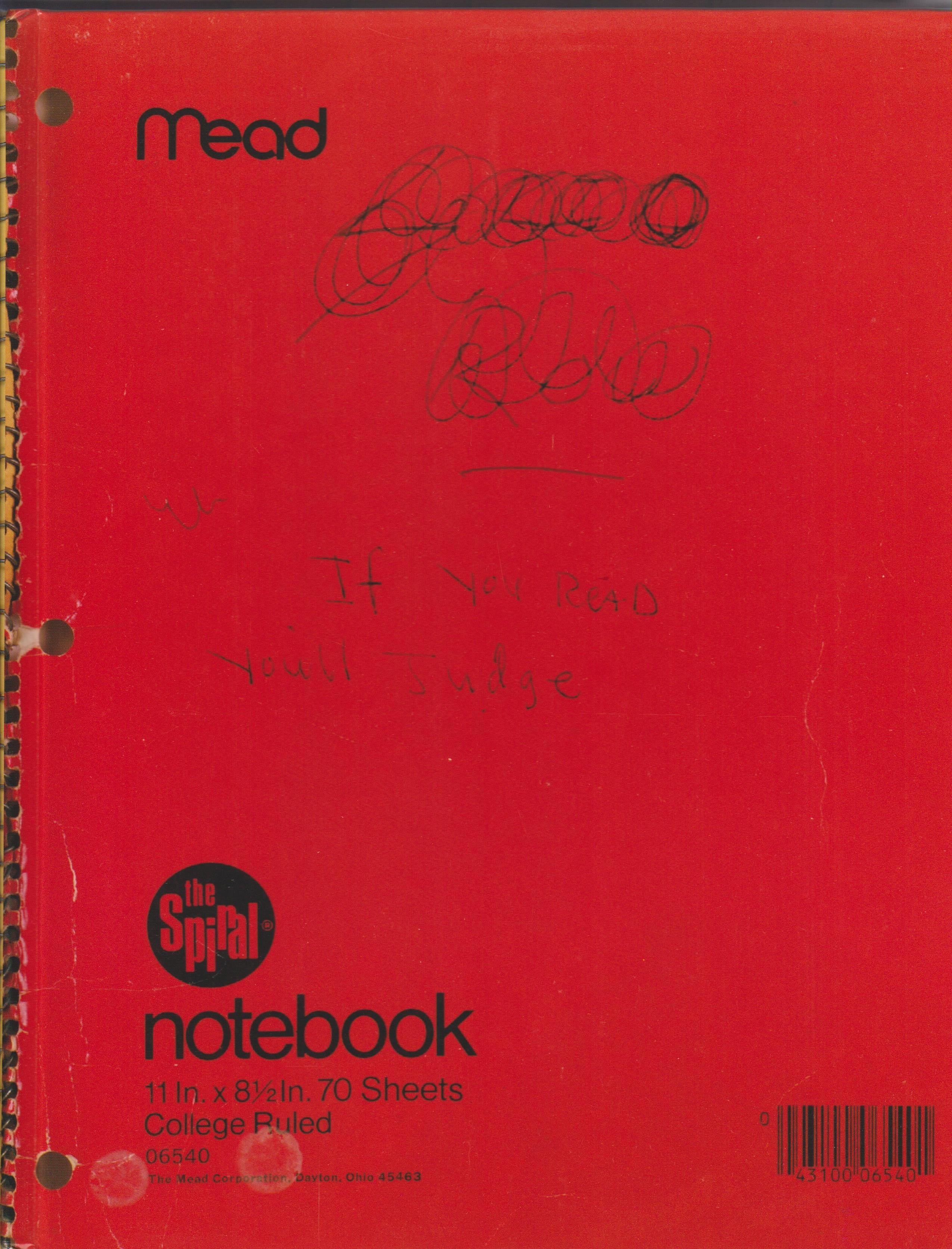 Cobain Journals