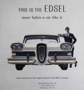 Reclama Edsel