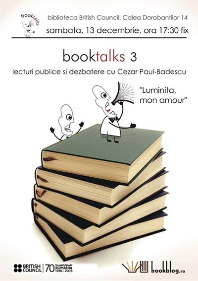 BookBtalks editia a 3-a