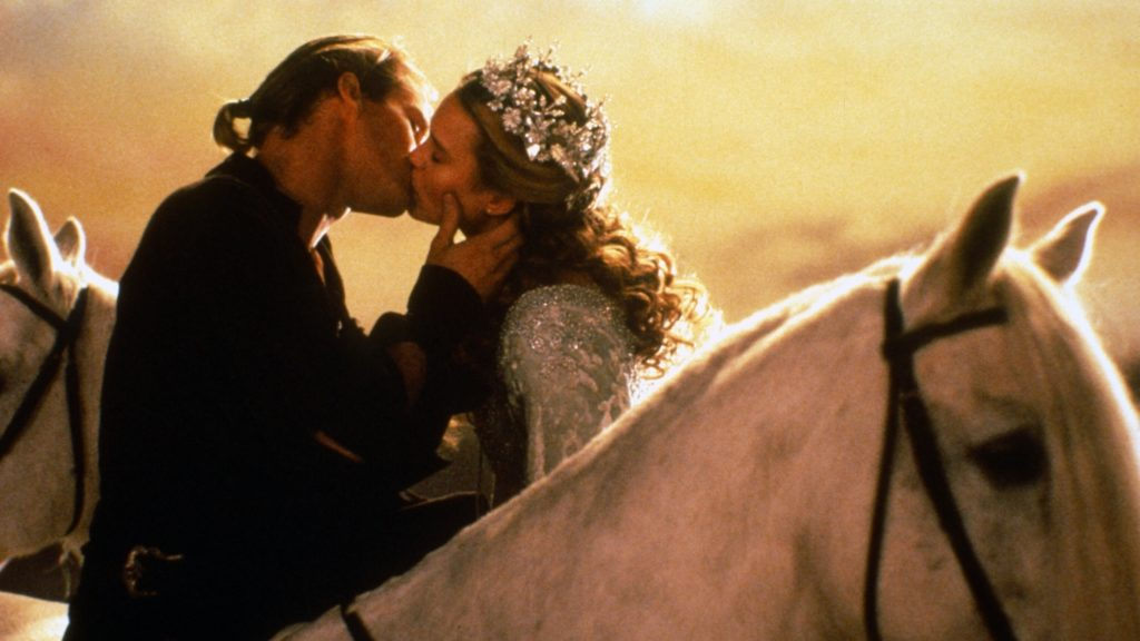 Cary Elwes stars as Westley, a farm boy who falls in love with Buttercup (Robin Wright), in 1987's The Princess Bride.