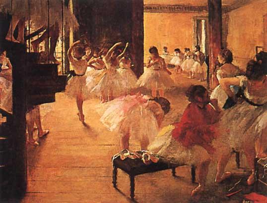 degas ballet school