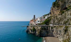 An Italian coastal town