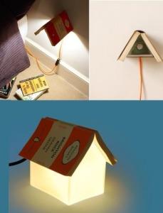 lampa-semn carte