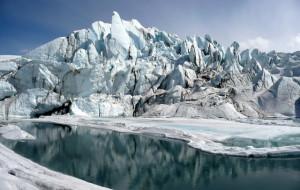 Matanuska Glacier mouth